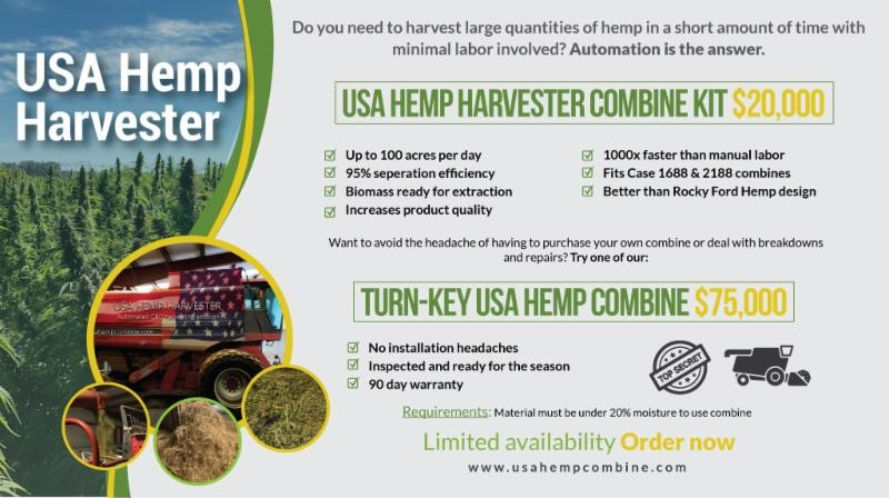 Hemp Combine Harvester – RAWmarket place