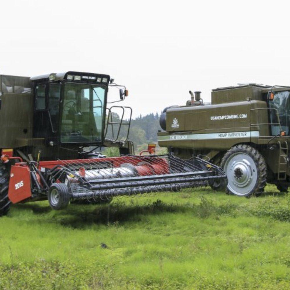Hemp Harvester Combine
