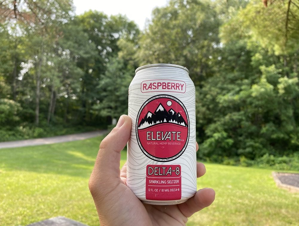 10 MG Delta-8 Seltzer 6-Packs/Cases (Raspberry and Lime)