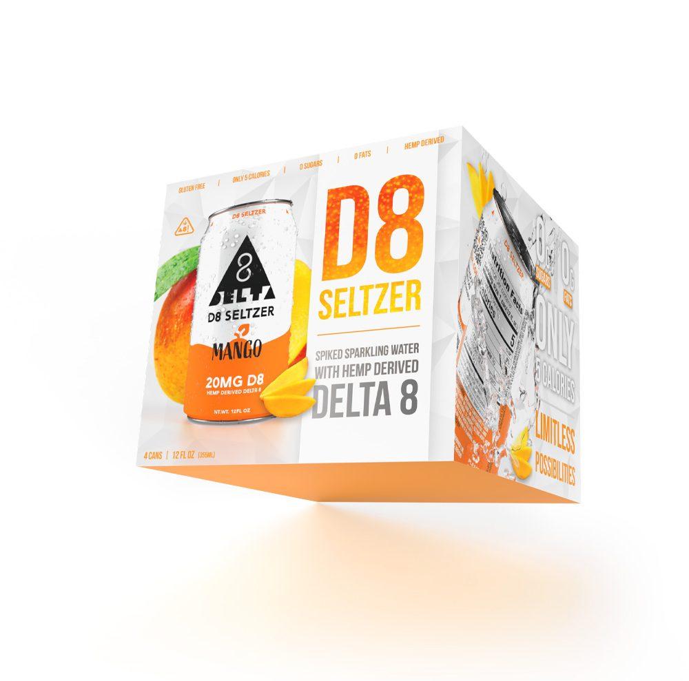 D8 Seltzer™ - New Mango Flavor Available now!