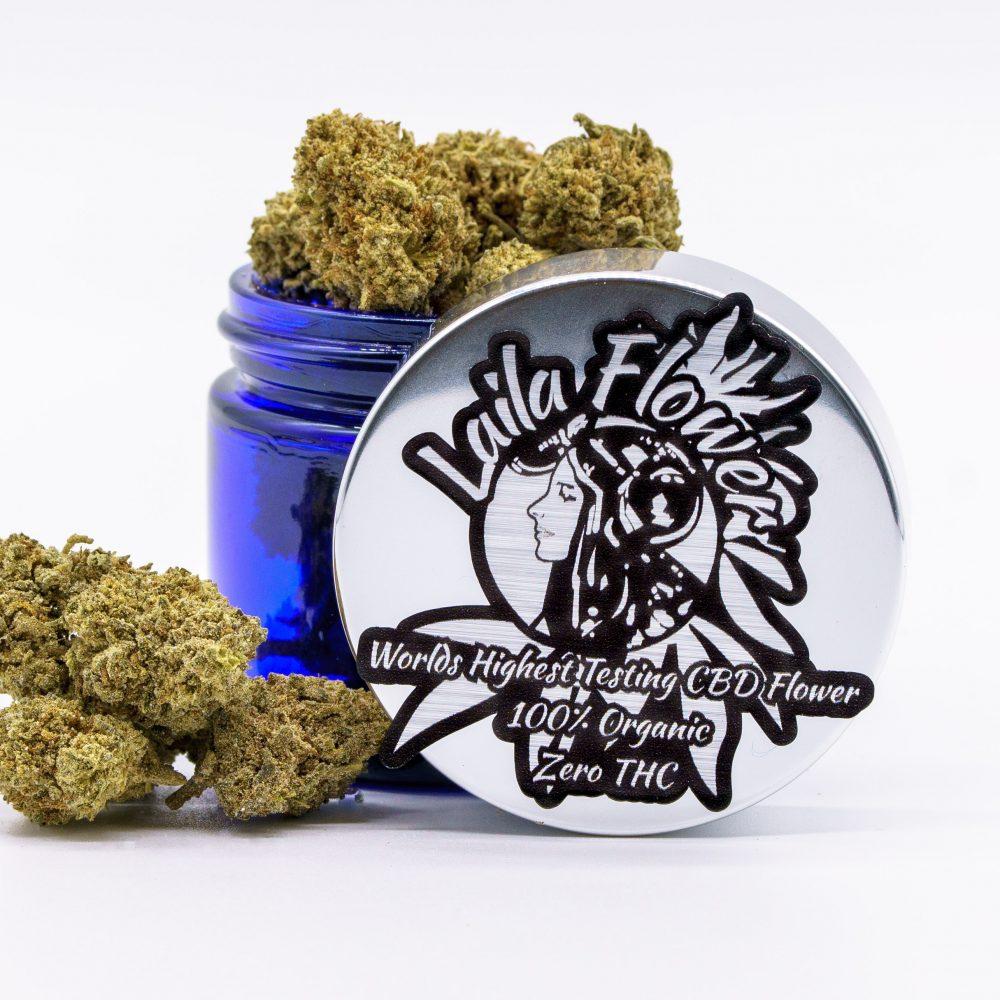 Highest Testing CBD Hemp Flower 25%-30% CBD (ZERO THC LOQ NON DETECT) LEGAL WORLDWIDE