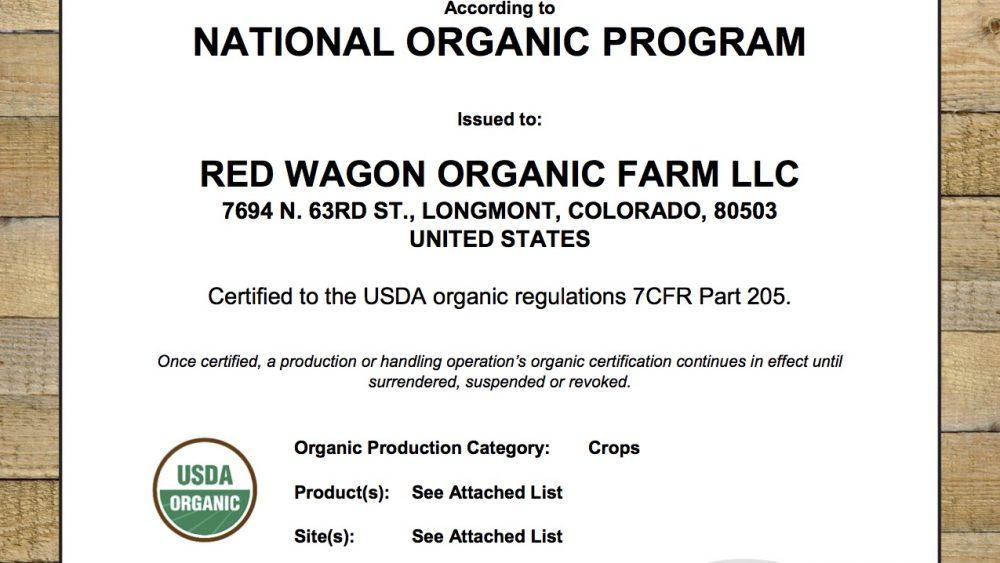 Colorado Golden Distillate Made From USDA Certified Organic Hemp