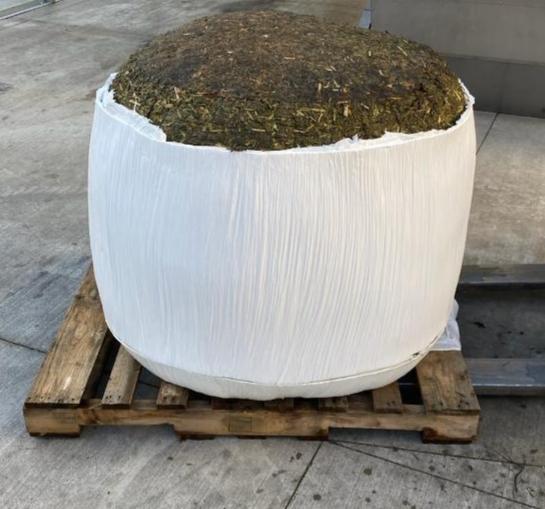 bailed biomass