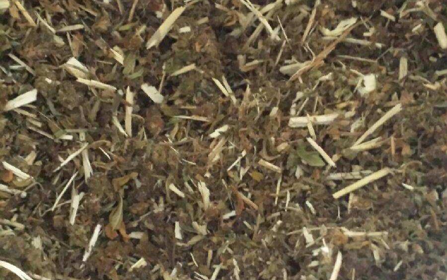 PESTICIDE FREE LIFTER HEMP BIOMASS 12.33% & 13.32% chopped, 20.95% hand shucked flower CBD .12 delta