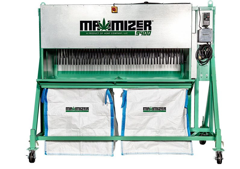 MAXIMIZER 9400 Automated Whole Plant Bucking Machine