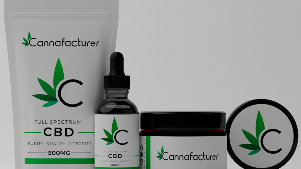 $5 2000mg Tincture Labeled, Sealed, Boxed - High Volume American CBD manufacturing by Cannafacturer