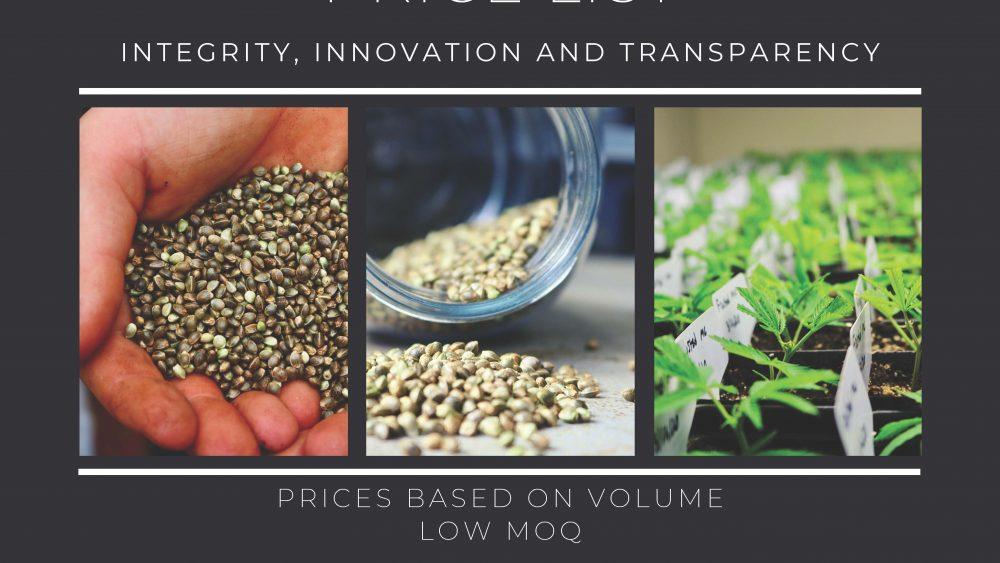 USDA Organic Feminized T1(aka Trump/Cinco) Seed