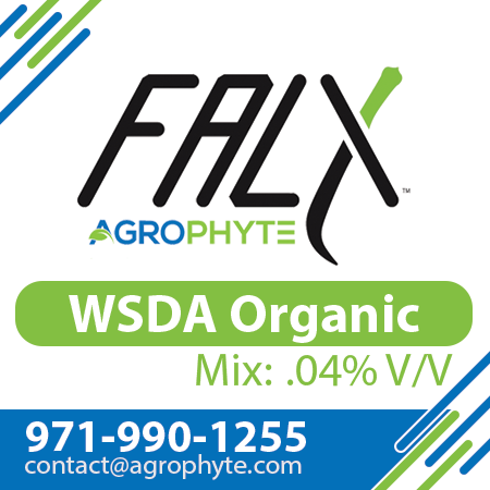 FALX Patented Organic Adjuvant Hemp - Cannabis - Mold and Pests