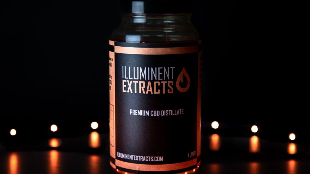 Illuminent Extracts Full Spectrum Distillate - 80-84% $2000/liter Includes COA