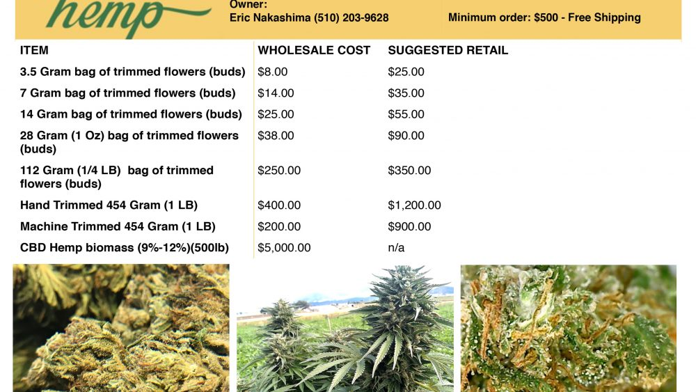 FOR RETAIL SELLERS! AFFORDABLE WHOLESALE - PRE PACKAGED PREMIUM HEMP FLOWER | FOR YOUR STORE!