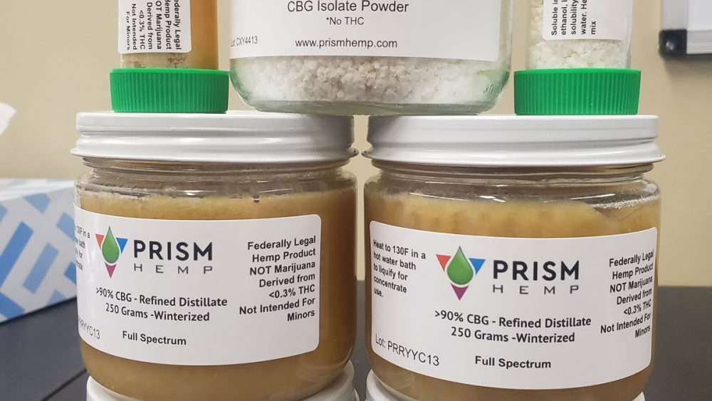 Pure CBG >90% Distillate And 99% Isolate Available, Guaranteed Lowest Price