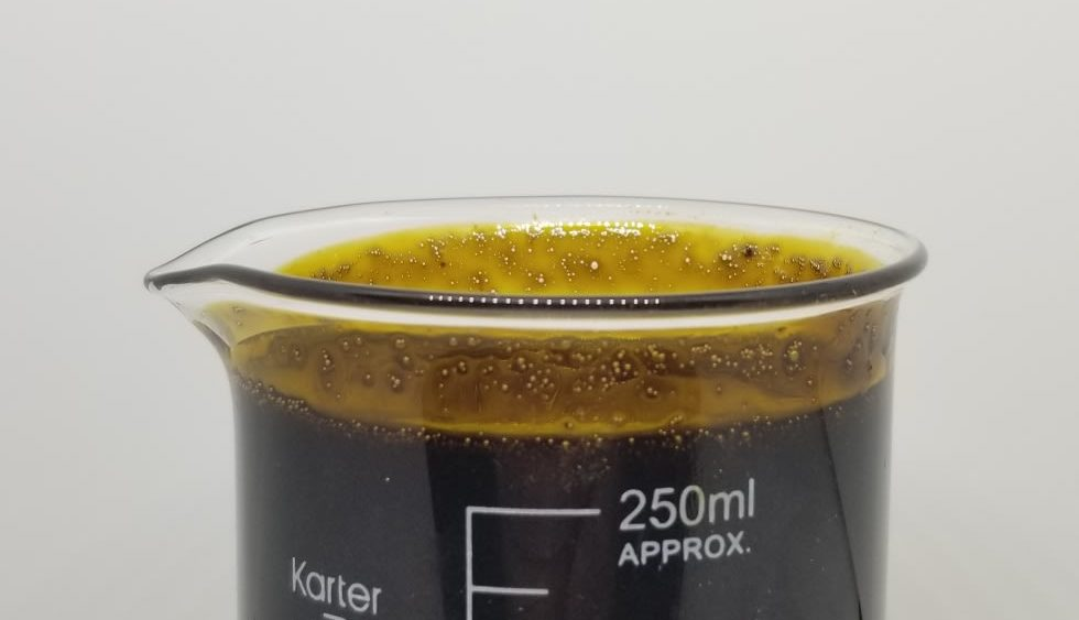 61% CBD Crude oil Ethynol extracted 90% Winterized & Decarboxilated