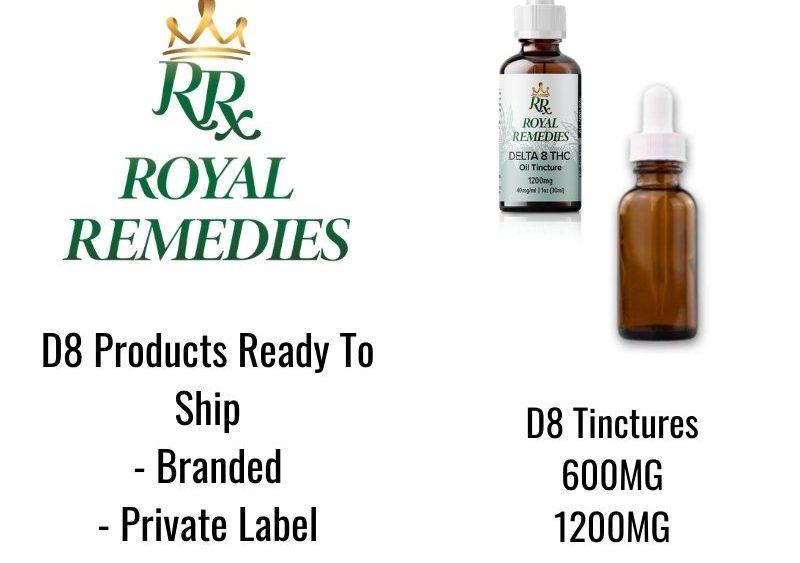 Private Label D8 Available - Cartridges, Gummies, & Tinctures