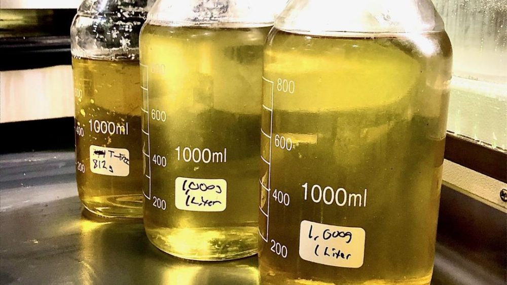 CBD Distillate with .15 THC - Legal level of THC