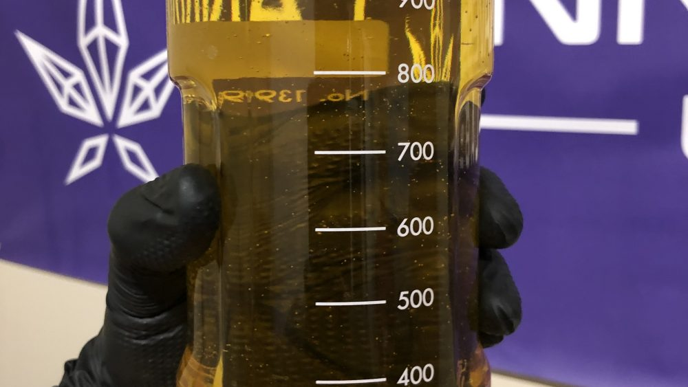 $1600 Distillate! 90% Total Cannabinoids with 10% minor cannabinoids!