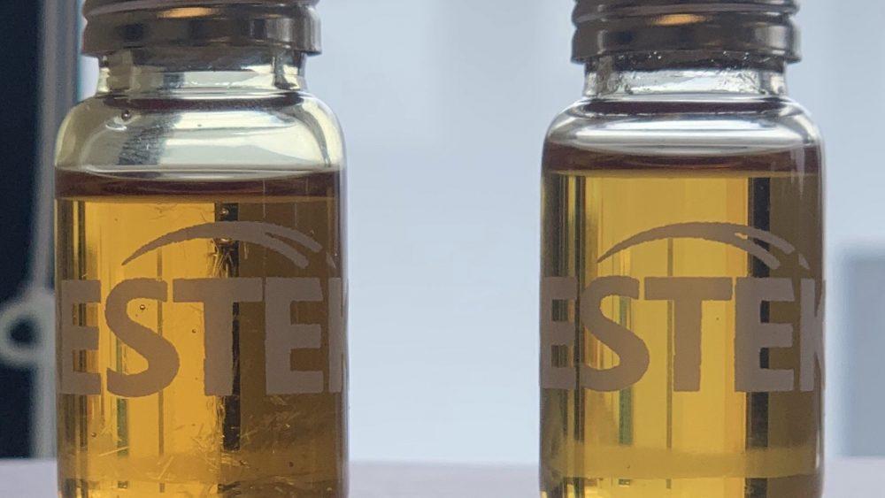 Craft Hemp Distillate with high minor cannabinoids - 83% CBD, 3.3% CBC