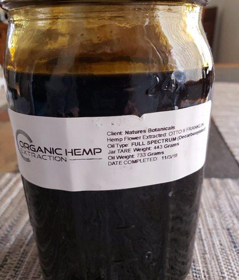 CBD Full Spectrum Oil - Franklin sub-strain