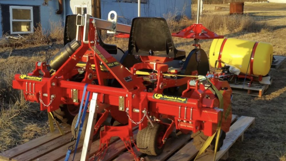 New WOLF PRO, VERSATILE HEMP Planter Available for Immediate Shipping from PA $31,500