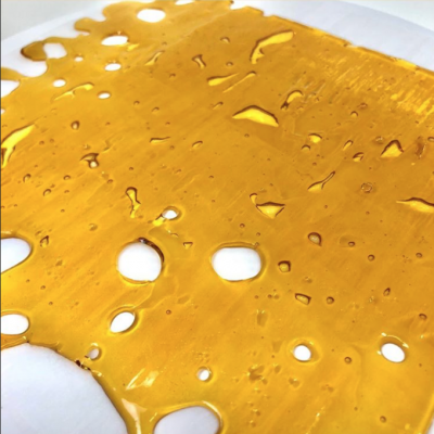 73.5% CBDA Shatter | 0.115% Delta9 THC ($7,500/KG)