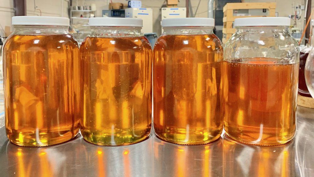 T free Distillate 1000$/kg  Hot Distillate 500$/kg