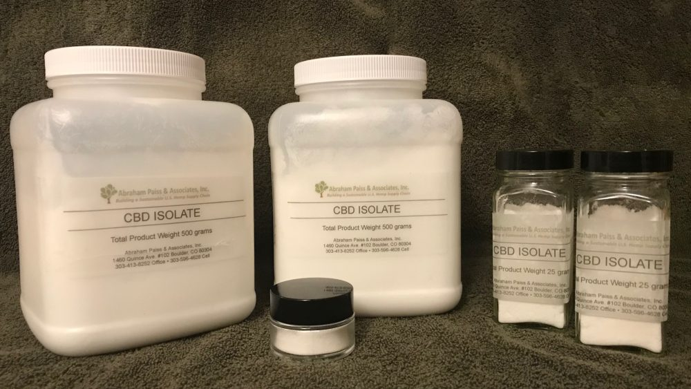 Small Quantity Domestic Isolate