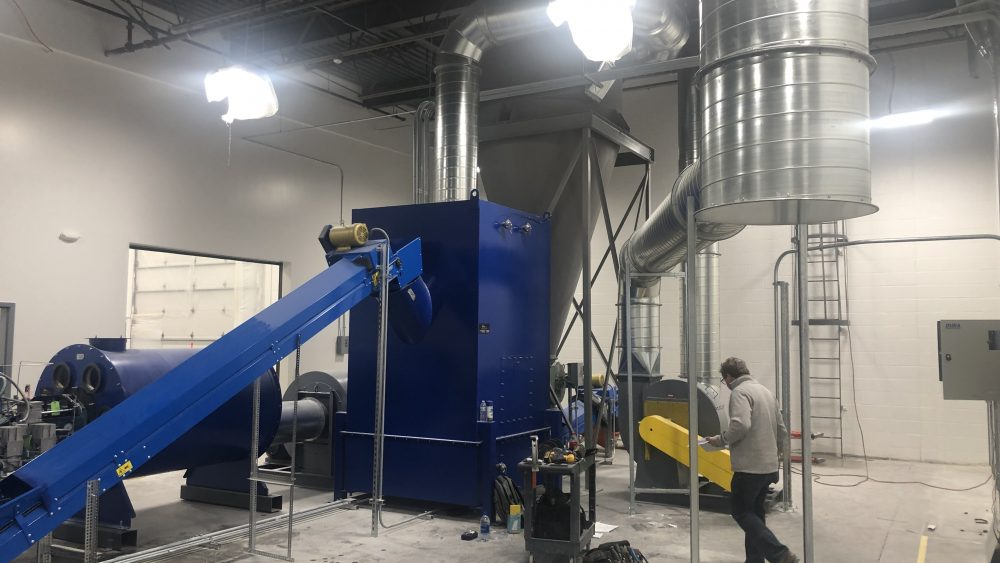 IEC Hemp Dryer for Sale 1000 lbs per hour $250,000  (Buy this month for $150,000)