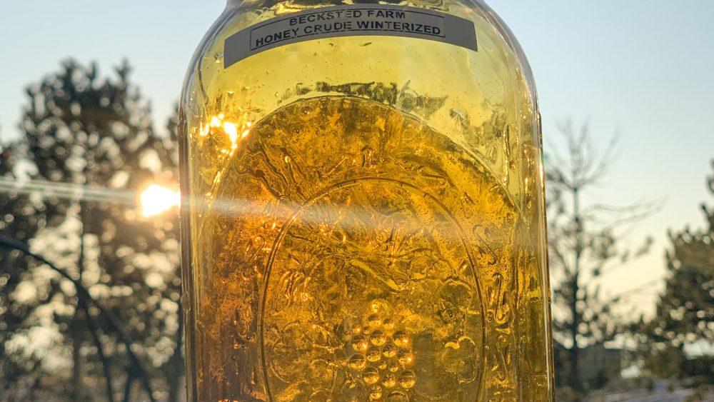 Full Spectrum Winterized Honey Crude OIl