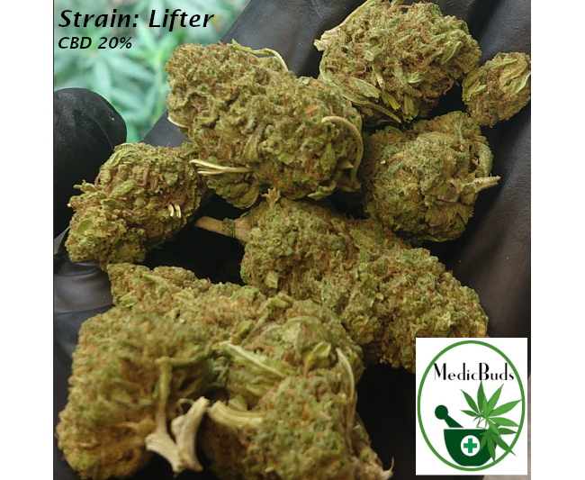 Smokable CBD Flower: Frosted Lime + 8 other strains HERE!
