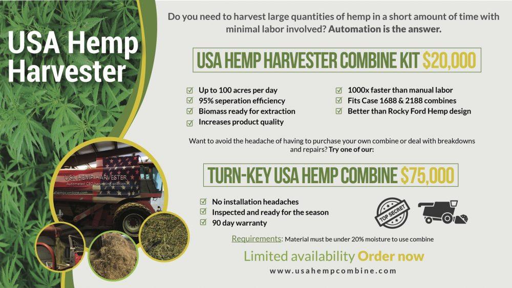 Hemp Combine Harvester