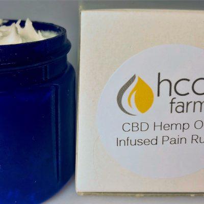 Hemp CBD Oil Pain Rub