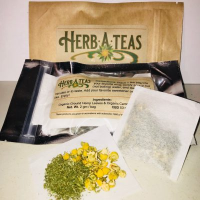 Delicious Hemp Tea Blend