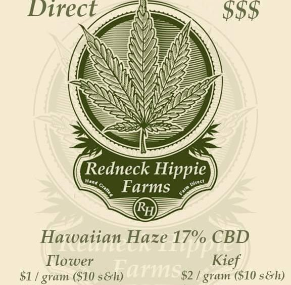 SALE!!! 17% Hawaiian Haze 200lbs for $150/lb