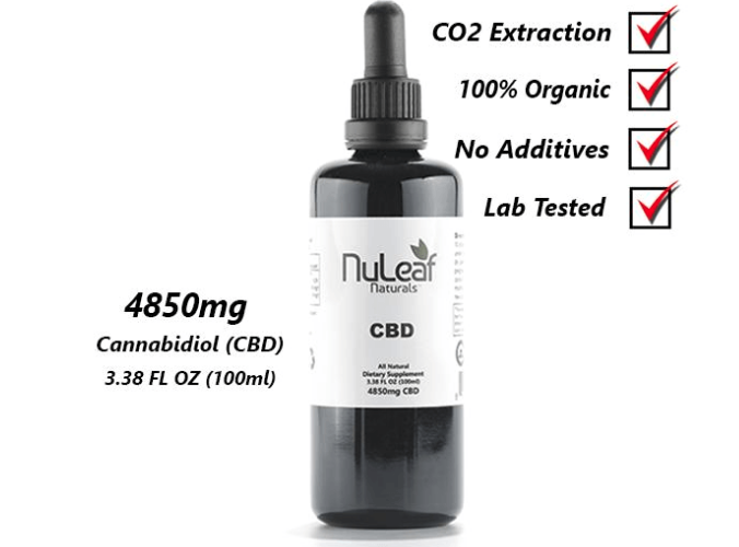 240-4850 mg Full Spectrum CBD Oil