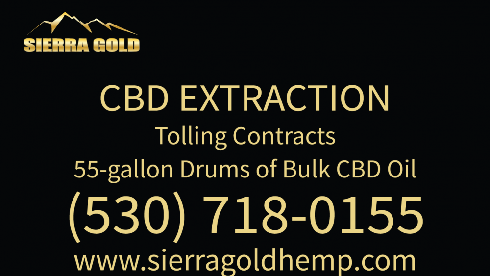 Sierra Gold Hemp